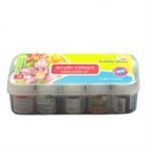 Acrylic Colours Sunflower Kit 1 box