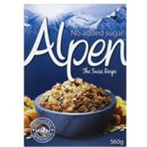 Alpen Blue No Sugar // 560 gm
