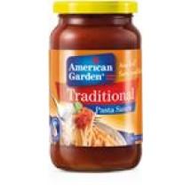 American Garden Traditional Pasta Sauce // 397 gm
