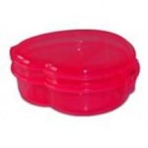 Bengal Plastic Heart Shape Tiffin Box // each