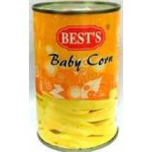 Bests Baby Corn Tin // 425 gm