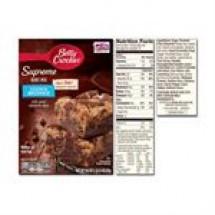 Betty Crocker Super Moist Dark Chocolate Chunk Brownie Mix // 500 gm
