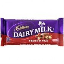 Cadbury Dairy Milk Silk Fruit & Nut // 145 gm
