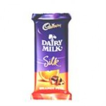 Cadbury Dairy Milk Silk Orange Peel // 60 gm