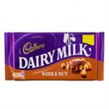 Cadbury Dairy Milk Whole Nut // 200 gm