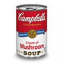 Campbells Cream Of Mushroom Soup Tin // 420 gm