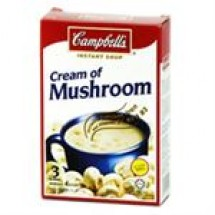 Campbells Instant Soup Cream Of Mushroom // 63.3 gm