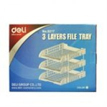 Deli 3 Layers File Tray // each