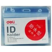 Deli ID Card Holder 54×90 mm // each