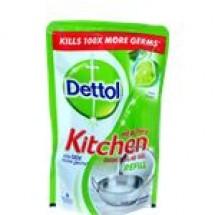 Dettol Healthy Kitchen Dish & Slab Gel Lime Splash Refill // 130 ml