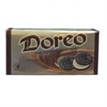 Doreo Black Chocolate Sandwich Biscuit 4 pcs // 320 gm