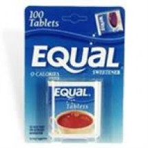 Equal Sweetener 100 tablets