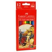 Faber Castell 12 Classic Colour Pencils Big // each