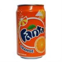 Fanta Orange Can // 330 ml