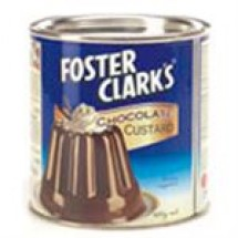 Foster Clarks Chocolate Custard Tin // 400 gm