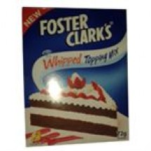 Foster Clarks Whipped Topping Mix // 72 gm