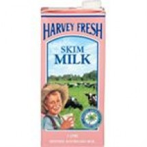 Harvey Fresh UHT Skim Milk // 1 ltr