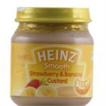 Heinz Custard With Strawberry and Banana // 120 gm
