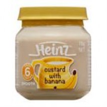 Heinz Custurd With Banana // 110 gm