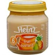 Heinz Fruit Custard // 110 gm