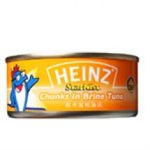 Heinz Tuna Chunk In Brine // 185 gm