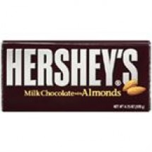 Hersheys Milk Chocolate With Almond Bar // 40 gm