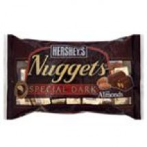 Hersheys Nuggets Dark Chocolate With Almond // 28 gm