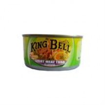 King Bell Light Meat Tuna in Brine // 185 gm