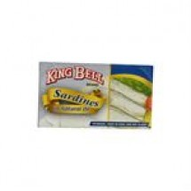 King Bell Sardines In Natural Oil // 125 gm
