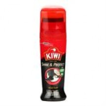 Kiwi Instant Shoe Polish Black // 75 ml