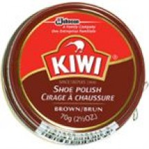 Kiwi Instant Shoe Polish Brown // 40 ml