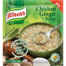 Knorr Chicken Ginger Soup // 21 gm