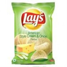 Lays American Style Cream & Onion // 52 gm