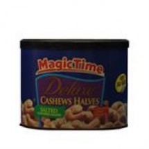 Magic Time Deluxe Cashews Havlves Salted // 283 gm