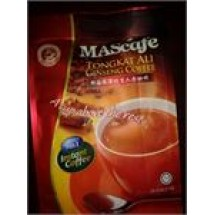 Mascafe Tongkat Ali Ginseng Instant Coffee // 28 Sticks Premix 5 in 1