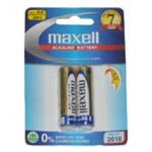 Maxell Alkaline Battery Size-AA // 2 pcs