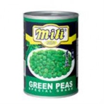 Mili Green Peas // 397 gm