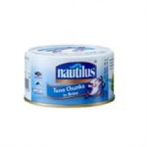 Nautilus Tuna Chunks In Brine // 185 gm