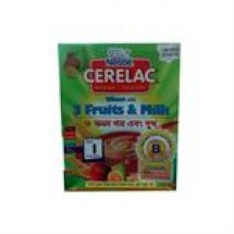 Nestle Cerelac Wheat With 3 Fruits & Milk // 400 gm