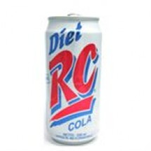 RC Cola Diet Can // 250 ml
