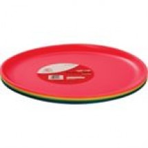 RFLPlastic Mini Plate (19.5 cm) 6 pcs Set