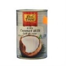 Real thai lite coconut milk can // 400 ml