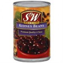 S and W Kidney Beans Can // 432 gm