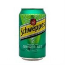 Schweppes Caffeine Free Ginger Ale // 325 ml