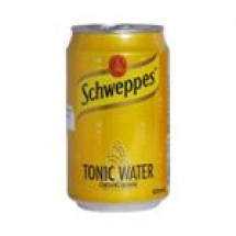 Schweppes Tonic Water Can // 325 ml