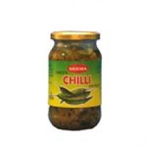 Seema Green Chilli Pickle // 400 gm