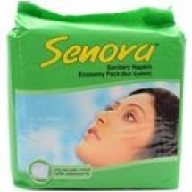 Senora Sanitary Napkin Economy Pack (Belt) // 15 pcs