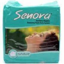 Senora Sanitary Napkin Economy Pack (Panty) // 15 pcs