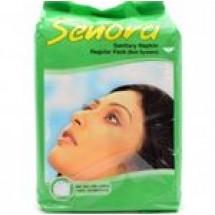 Senora Sanitary Napkin Regular Flow (Belt) // 10 pcs