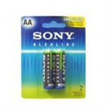 Sony AA Alkaline Batteries // 2 pcs